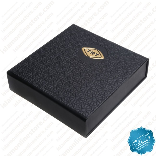 Corporate gift, luxury tie, rosary and pen