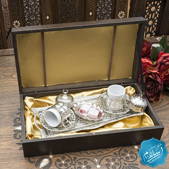 Corporate gifts,Wooden Boxed Coffee Set