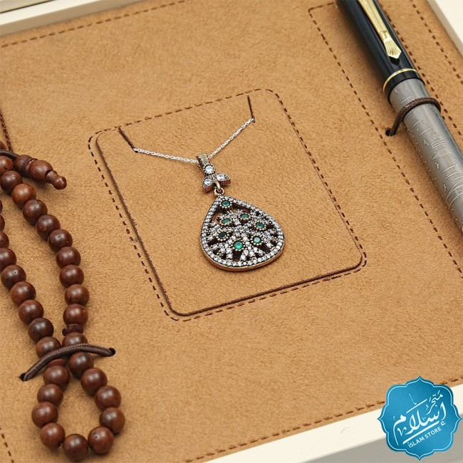Corporate gift, Bronze Necklace, rosary and pen