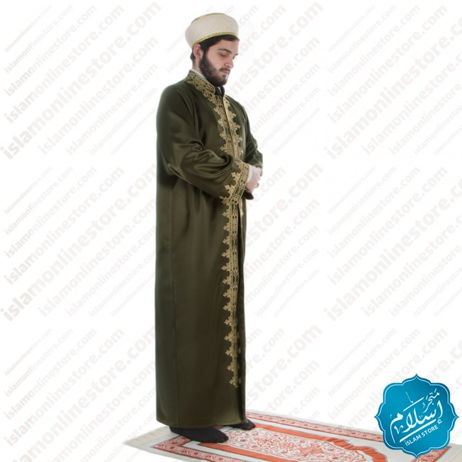 Raad Abaya Green Color