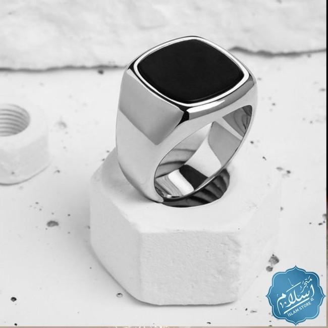 Mens ring in 925 sterling silver