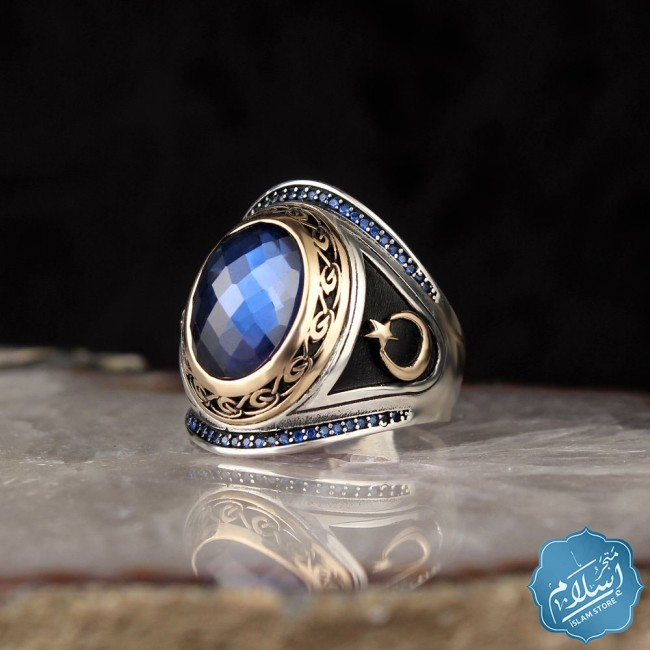 Men's silver ring- silver ring