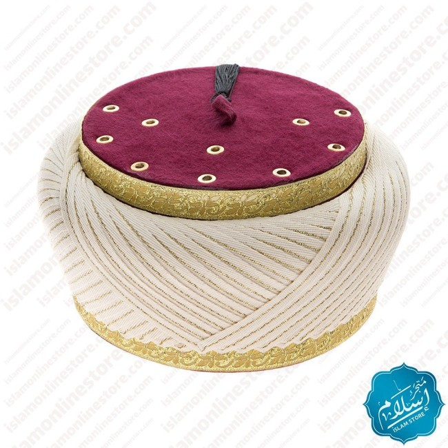 Zayed Turban Cream Color