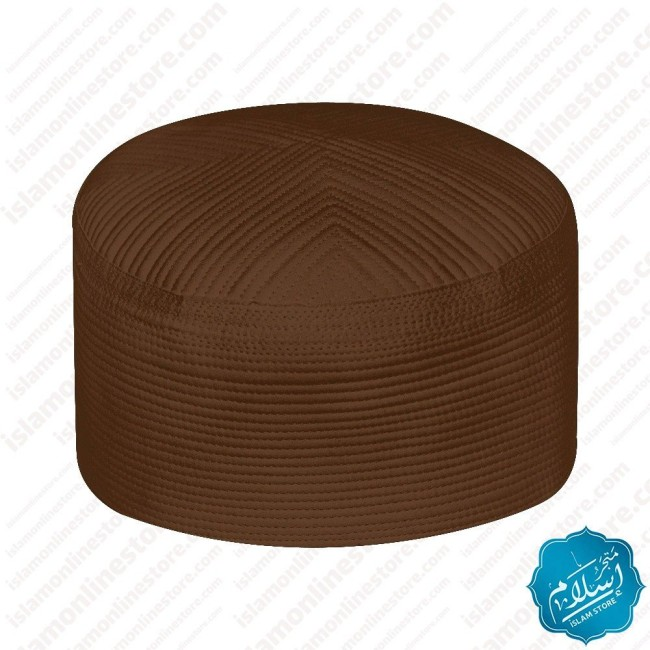 Men's Prayer Cap Brown Color-3