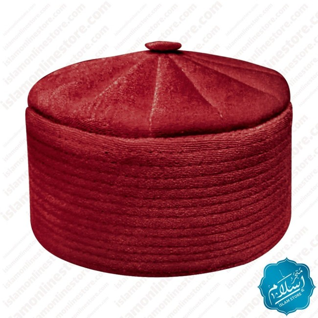 Rufai Cap Burgundy Color