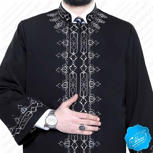 Raad Abaya Black Color