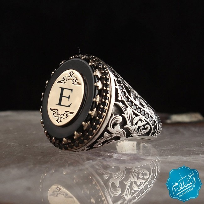Silver Ring Special Order Black Color