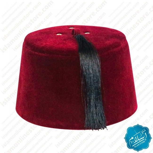 Fez Ottoman red color