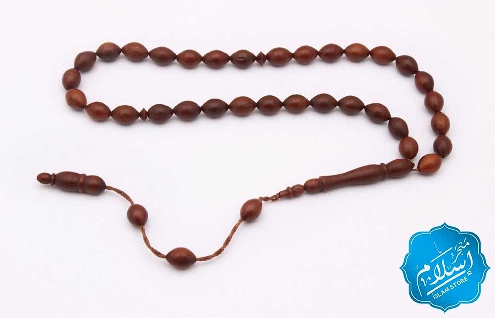 Beautiful Handmade Rosary Brown Color -2